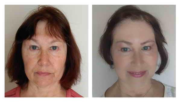 Научилась делать макияж и стала выглядеть на 15 лет моложе